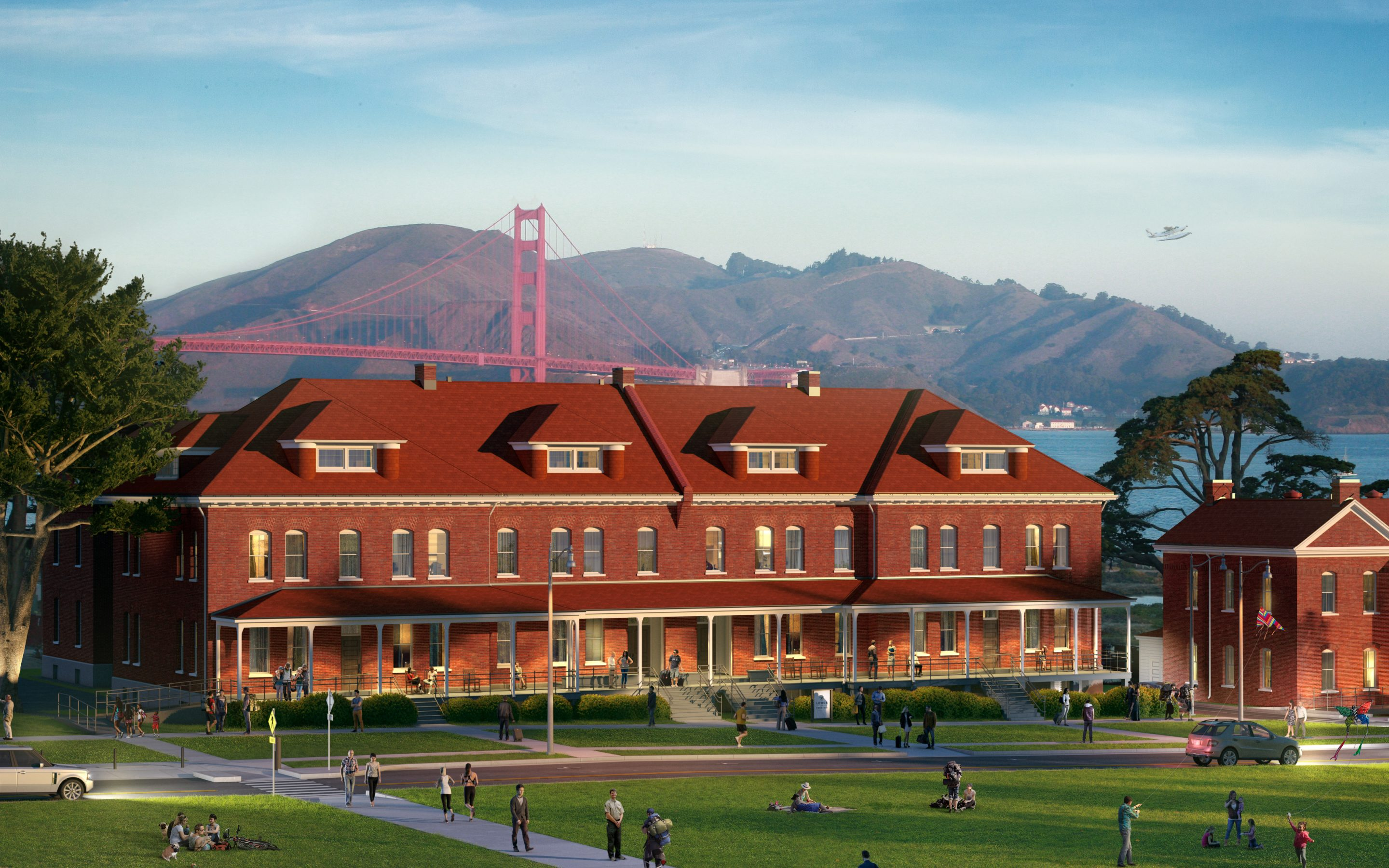 Lodge at the Presidio Opening in San Francisco's National Park- June 28, 2018